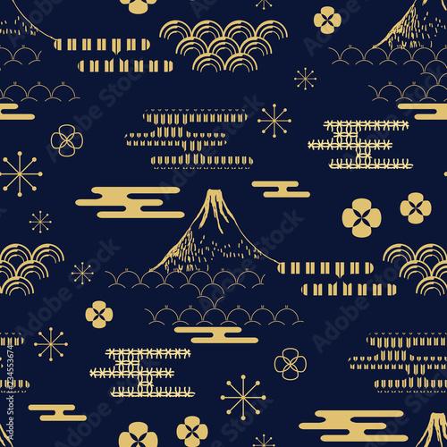Japanese pattern383 Wall mural
