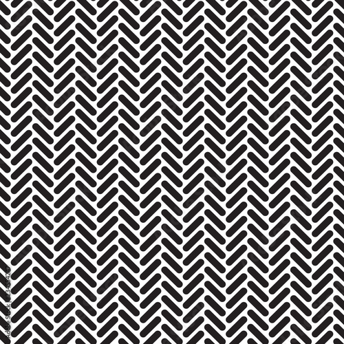 Seamless geometric rounded herringbone network pattern texture background Wallpaper Mural