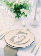 Place Setting At Wedding Recep...
