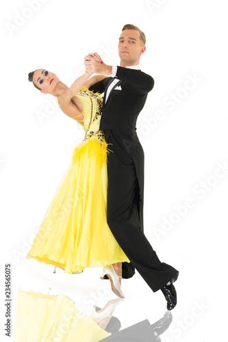 Fototapeta ballroom dancers