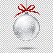 Realistic Transparent Christma...