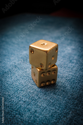 Photographie  Lucky Golden Dice