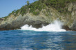 Sea rocks, island