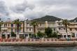 Seaside cafe and motels