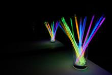 Arrangement Of Glow Sticks