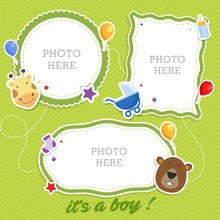 Baby Photo Frames With Cute An...