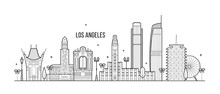 Los Angeles Skyline USA Big Ci...