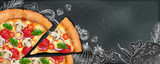 Pizza banner ads - 234630430