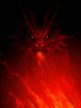 Mighty Dragon Head