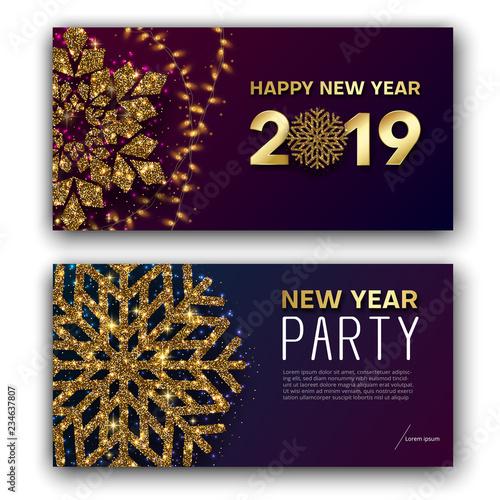 Happy New Year Invitation Card 62