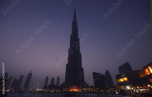 Obraz na plátně Burj Khalifa building