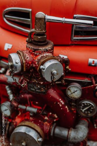 Photo Ford F6 Feuerwehr Oldtimer