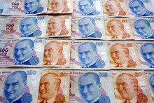 Turkish Liras With Ataturk Pictues