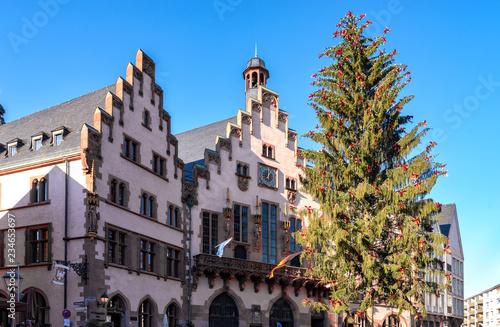 Weihnachtsbaum Frankfurt.Grosser Weihnachtsbaum Vor Dem Rathaus In Frankfurt Am Main Kaufen