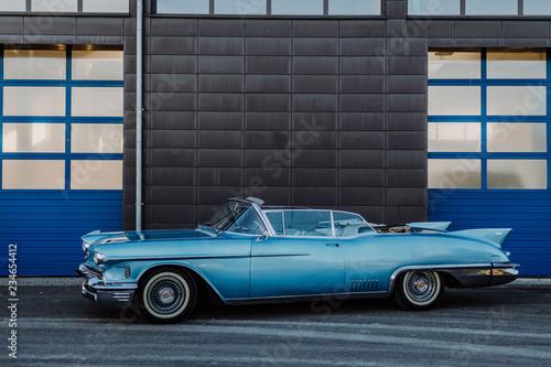 Canvas Cadillac Oldtimer