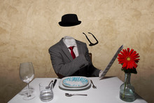 Invisible Man Dinner