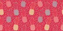 Lively Pineapple Pattern, Seam...