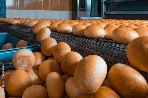 Fototapeta Fresh bread from the bakery oven obraz