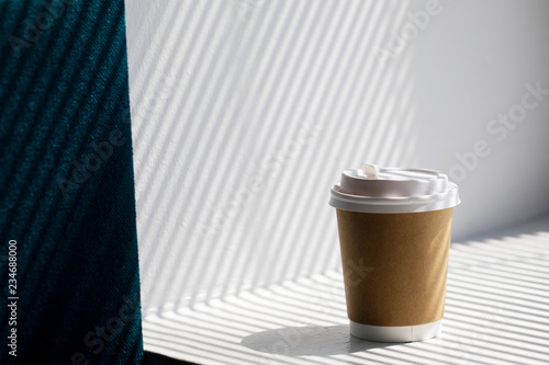 Fotografie, Obraz  Good morning with a coffee cup