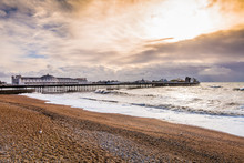 Famous Brighton Pier, Beach An...