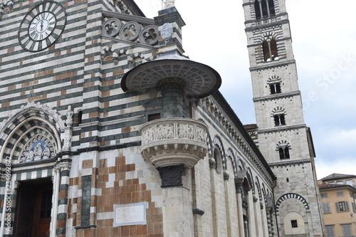 Photo  Duomo di Prato - particolare con il pulpito di Donatello