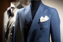 Men Elegant Clothing In A Store In Paris, 2018.