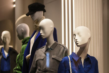 Women Clothing On Mannequins I...