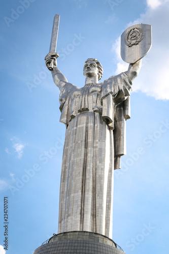 Fotografia  Motherland Monument in Kiev, Ukraine