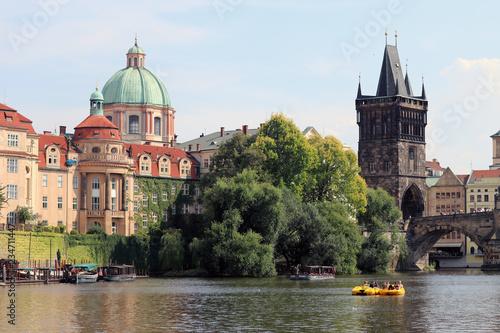 Photo sur Aluminium Prague view of Prague