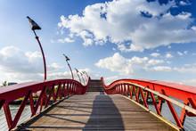 Python Bridge In Amsterdam, Netherlands