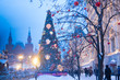Christmas in Moscow. New Year
