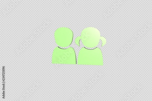 Photo  Illustration of For Kids on transparent background