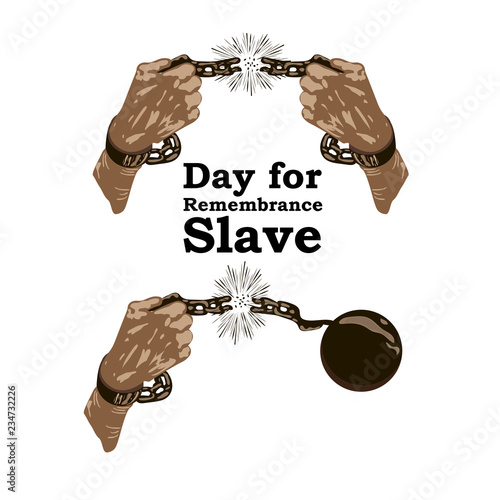 Photo Concept on Day for the abolition of Slavery