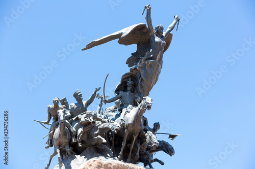 Poster Historisch mon. Monument to the Army of the Andes, Mendoza