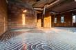 canvas print picture - floor heating