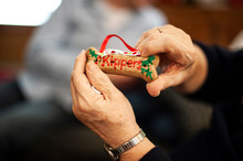 Holiday Dog Biscuit Christmas Ornament