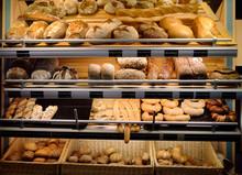 Freshly Baked Gourmet Breads For Sale In German Bakery