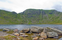 Hellvellyn From Red Tarn