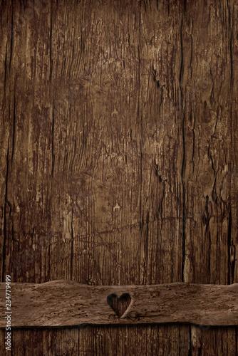 Pusty tło stary pionowo drewno
