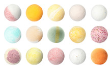 Set With Aromatic Bath Bombs O...