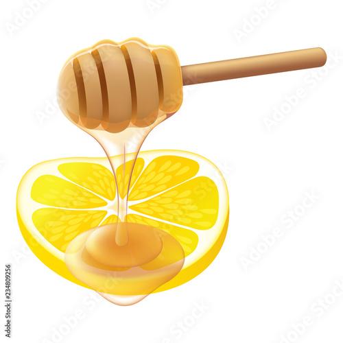 Honey Lemon, vector Wallpaper Mural