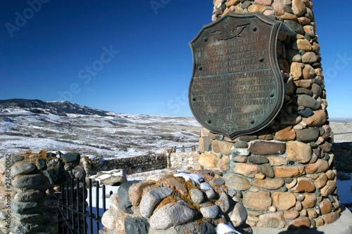 Fotografie, Obraz  Fort Phil Kearney, Wyoming, USA