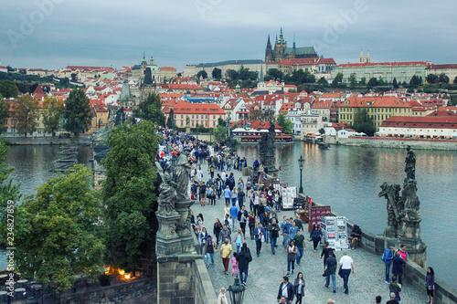 Fotografia Karlov or charles bridge in Prague