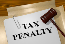TAX PENALTY Concept