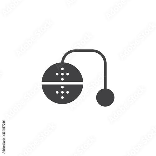 Fotografia, Obraz  Tea infuser vector icon