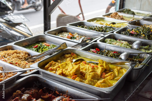 Brilliant Indonesian Food Buffet Dishes Consist Of Meat Chicken Download Free Architecture Designs Scobabritishbridgeorg