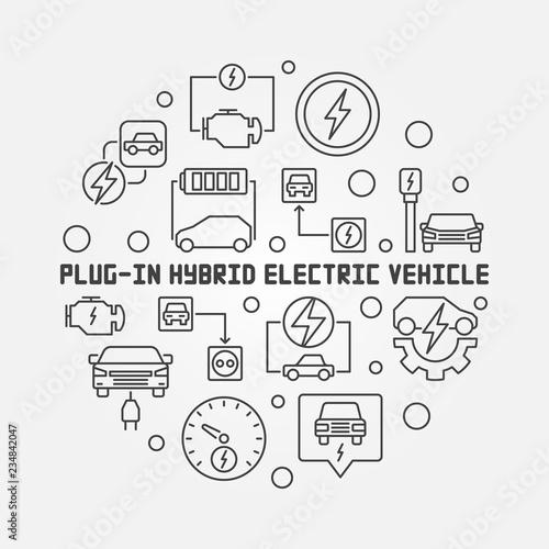 Electric Vehicle Diagram