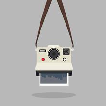 Hanging Retro Instant Camera