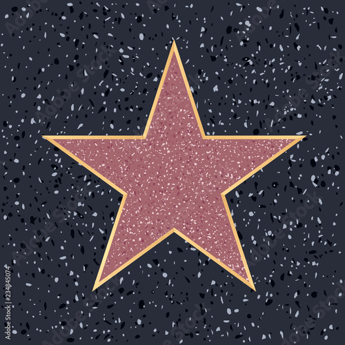 Tablou Canvas hollywood star