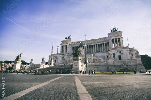 Foto op Aluminium Havana piazza venice in Rome - Italy